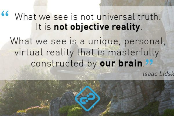 Do we believe what we see… or do we see what we believe…?
