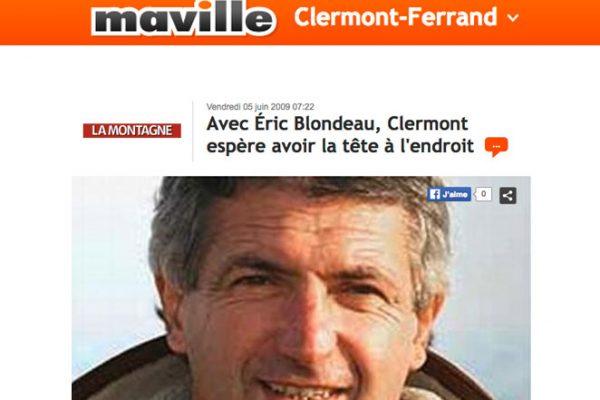Ma ville – Clermont Ferrand – June 2009