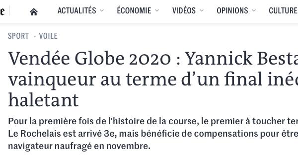 LE MONDE – JANUARY 2021